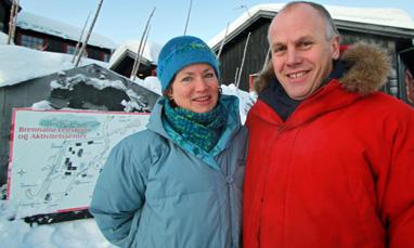 Elisabeth Melbye og Eivind Brenna. Foto: Eirik Høyme Rogn.