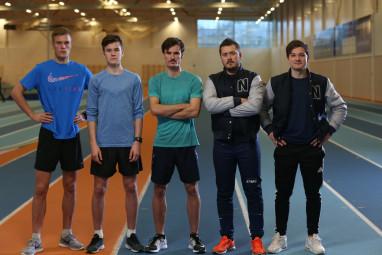 Filip, Jakob, Henrik, Kristoffer og Martin Ingebrigtsen