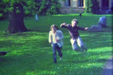 "Clas og Kent i musikkvideoen ""Savage garden"". Foto fra filmen."