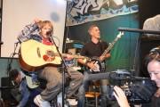 Kent Gustavsen og Håkon Gebhardt, releasekonsert Plata fra gata. Foto Hilde Skofteland.