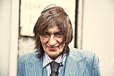 """Charlie Storøygard, medvirkende i """"Uteliggernes sang"""". Foto Dimitris Koutsomytis."""